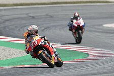 MotoGP Barcelona: Marquez verfolgt Rossi - neue Taktik?
