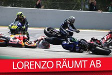 MotoGP - Video: MotoGP Barcelona: Was ist in Lorenzo gefahren? Analyse-Talk