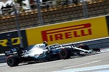 Formel 1, Frankreich FP2: Bottas vorne, Hamilton droht Strafe