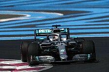 Formel 1 Frankreich-Qualifying: Hamilton auf Pole, Vettel P7