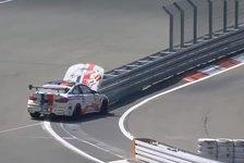 24h Nürburgring, Blindflug-BMW: Verrücktester Unfall im Rennen