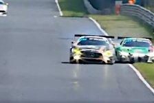 24h Nürburgring: Rast bei 260 km/h abgedrängt - Mercedes-Strafe