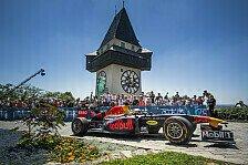 Formel 1 2019: Österreich GP - Max Verstappen rast durch Graz