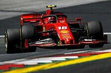 Formel 1 Österreich FP2: Leclerc mit Bestzeit in Chaos-Training