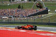 Formel 1 Österreich: Rennen am 5. und 12. Juli fast fix