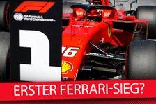 Formel 1 - Video: Wann gewinnt Ferrari endlich sein erstes Saisonrennen?