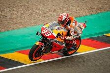MotoGP Sachsenring: Marquez in FP3 voran, Rossi & Bradl in Q1