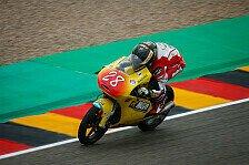 Moto3-Debüt für Dirk Geiger: Lust auf die WM bekommen