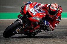 MotoGP Brünn 2019: Dovizioso im Auftakt-Training voran