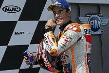 Marc Marquez jubelt: Ein perfektes MotoGP-Rennen am Sachsenring
