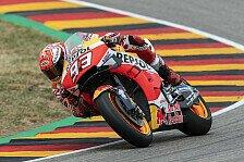 MotoGP Sachsenring 2019: Marquez holt Bestzeit im Warm-Up
