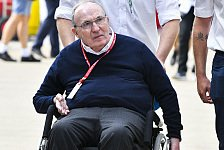 Formel 1: Teamchef-Legende Sir Frank Williams in Krankenhaus