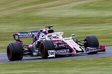 Formel 1, Perez crasht in Hülkenberg: Lenkrad-Fehler war Schuld