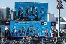 Formel E - Video: Formel E New York 2019: Highlights vom Samstags-Rennen