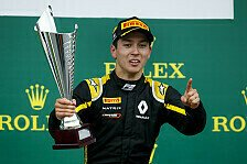 Formel 2 2019: Großbritannien GP - Rennen 13 & 14
