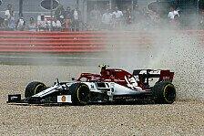 Formel 1 Silverstone: Darum flog SC-Auslöser Giovinazzi ab