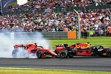 Formel 1 2019: Großbritannien GP - Vettel-Verstappen-Crash