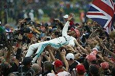 F1, Statistik: Hamilton bester Silverstone-Pilot aller Zeiten