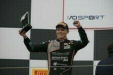 Krütten in der italienischen Formel 4 zwei Mal auf dem Podium