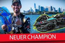 Formel E - Video: Finale in New York: Unsportliches Verhalten vom neuen Champion?