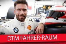 DTM - Video: Philipp Eng: Blick in einen Fahrer-Raum im Renntruck