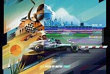 Formel 1 2019: Mercedes Benz feiert 125 Jahre Motorsport