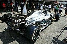 Formel 1: Mercedes bringt Update gegen Hitze, Zweifel an Effekt