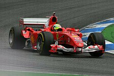 Formel 1 2019: Deutschland GP - Mick Schumacher im F2004