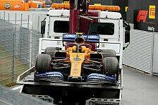 Formel 1, Monza: McLaren-Piloten hadern mit Technik-Problemen