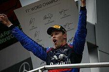 Formel 1, Kvyat im Gefühlchaos: Vater, Horror-Rennen, Podium