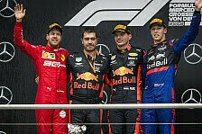 Formel 1 2019: Deutschland GP - Podium