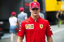 Formel 1, Ferrari plant mit Mick Schumacher: Zwei Jahre Lehre
