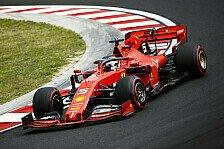 Formel 1 - Ferrari gibt 2019er-Auto nicht auf: Kein 2020-Fokus