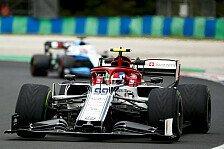 Formel 1, Giovinazzi im Aufwind: Im Quali schon dran an Kimi