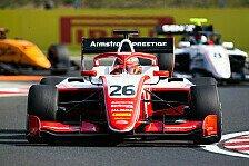 Formel 3 Ungarn: Ferrari-Junior Armstrong gewinnt Rennen 2