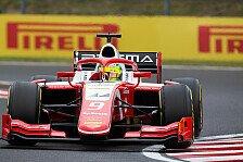 Formel 2 Ungarn-Qualifying: Mick Schumacher mit P4 im Regen