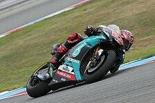 MotoGP Phillip Island: Quartararo mit Highsider, Vinales voran