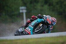 MotoGP-Test in Brünn: Fabio Quartararo holt Bestzeit