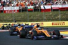 Formel 1 Fahrerranking 2019, Teamwertung: McLaren im Titelkampf