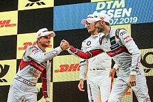 DTM: Rene Rast reagiert auf Timo Scheiders Audi-Kritik