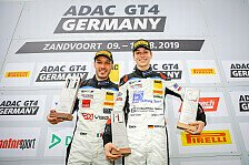 ADAC GT4 Germany 2019: Sieg für Zug und Piana in Zandvoort