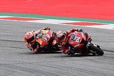 MotoGP Spielberg - Andrea Dovizioso: Mit Marc Marquez gespielt