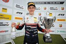 ADAC Formel 4: Pourchaire gewinnt ersten Lauf am Nürburgring