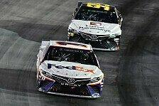 NASCAR Bristol: Denny Hamlin bezwingt starken Matt DiBenedetto
