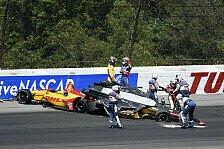 Massencrash beim IndyCar-Start in Pocono