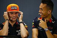Formel 1 2020: Red Bull verlängert Vertrag mit Alexander Albon