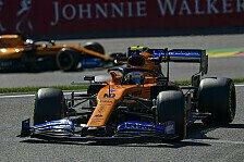 Formel 1 Spa, Norris: Defekt stiehlt Platz 5 - in letzter Runde