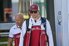 Formel 1 Monza - Kimi Räikkönen: Neuer Ferrari-Motor fällt aus