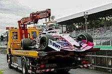 Formel 1, Racing Point 2020 am Limit: In Australien ohne Teile?