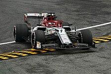 Formel 1 Monza, Räikkönen: Crash wegen Bedingungen sowieso egal